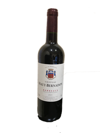 Chateau Haut-Bernadon bordeaux red 2015 750ml